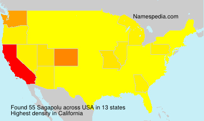 Surname Sagapolu in USA
