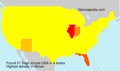 Surname Sagil in USA