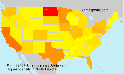 Surname Sailer in USA