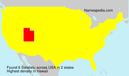 Familiennamen Salatielu - USA