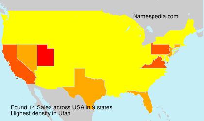Familiennamen Salea - USA