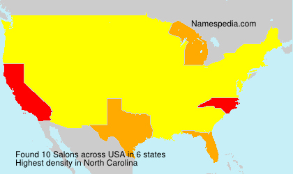Surname Salons in USA
