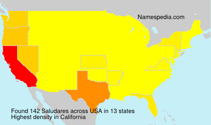Surname Saludares in USA