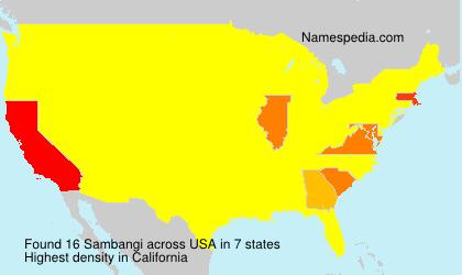 Sambangi - USA