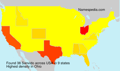 Surname Sanvido in USA