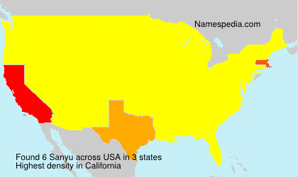 Surname Sanyu in USA