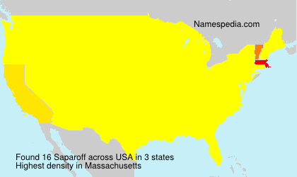 Saparoff - USA