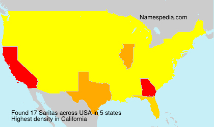 Surname Saritas in USA
