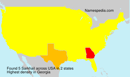 Surname Sarkhail in USA