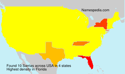 surname sarrias in france surname sarrias in usa