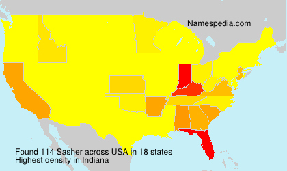 Surname Sasher in USA