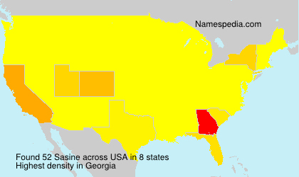 Surname Sasine in USA