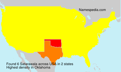 Surname Satarawala in USA