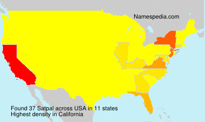Surname Satpal in USA