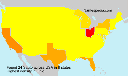 Surname Sauto in USA