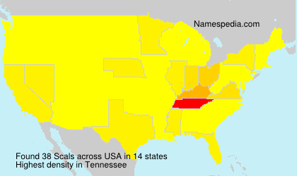 Surname Scals in USA