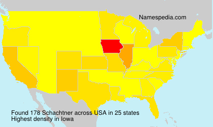 Surname Schachtner in USA