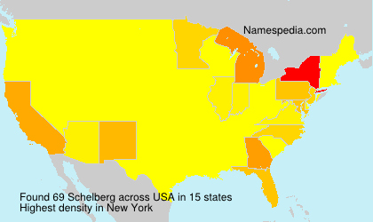 Surname Schelberg in USA
