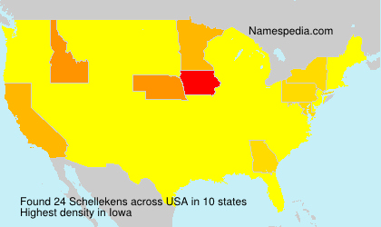 Surname Schellekens in USA