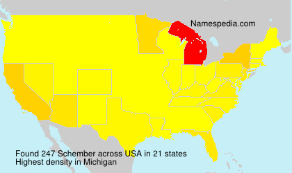 Surname Schember in USA