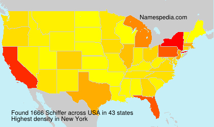 Surname Schiffer in USA