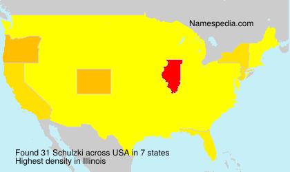 Surname Schulzki in USA