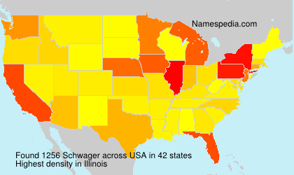 Surname Schwager in USA