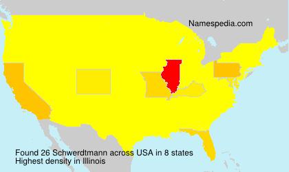Surname Schwerdtmann in USA