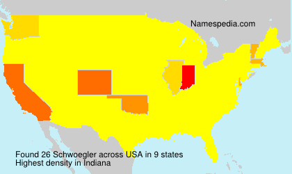 Surname Schwoegler in USA