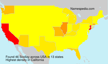 Surname Scollay in USA