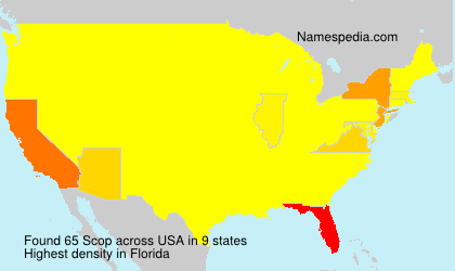 Surname Scop in USA
