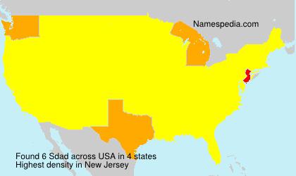 Surname Sdad in USA