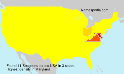 Surname Seagears in USA