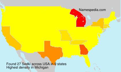 Sedki - USA