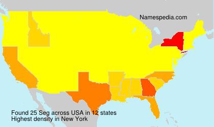 Surname Seg in USA
