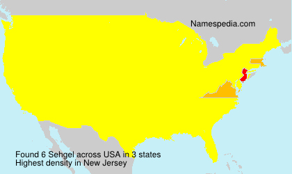 Surname Sehgel in USA