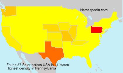Surname Seler in USA