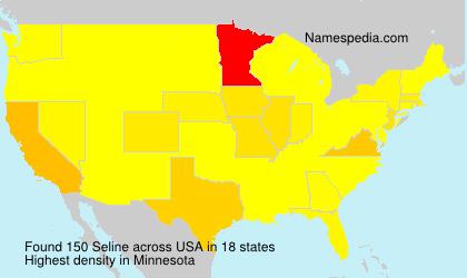 Familiennamen Seline - USA