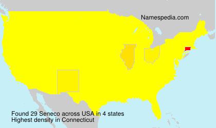 Surname Seneco in USA