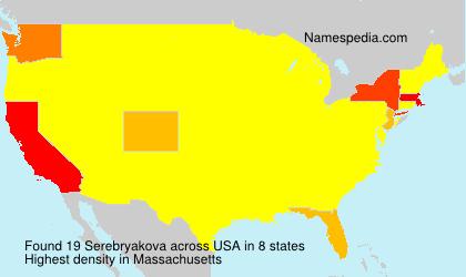 Serebryakova - USA
