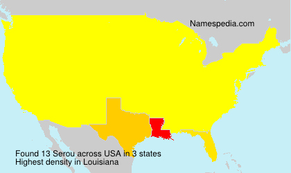 Surname Serou in USA