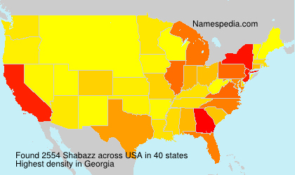 Surname Shabazz in USA