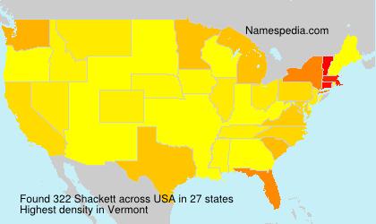 Shackett