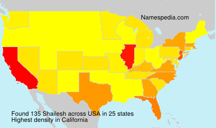 Surname Shailesh in USA