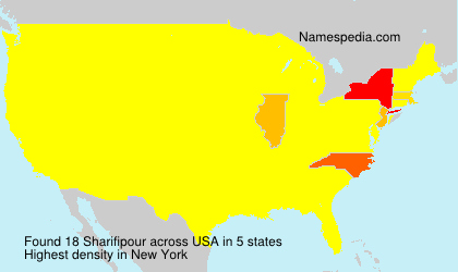 Surname Sharifipour in USA