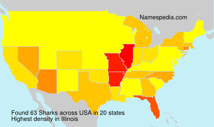 Surname Sharks in USA
