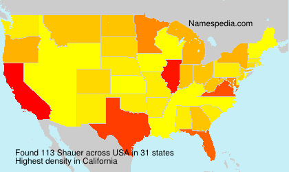 Surname Shauer in USA