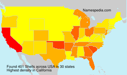 Surname Shells in USA