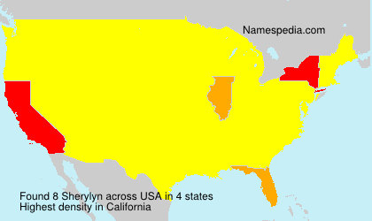 Surname Sherylyn in USA