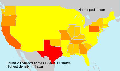 Surname Shileds in USA